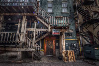 Signage Photograph - Bar Entrance by Bryan Scott