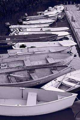 Bar Harbor Boats Print by Steve Gadomski