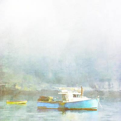 Atlantic Ocean Photograph - Bar Harbor Maine Foggy Morning by Carol Leigh