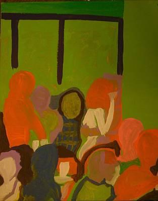 Bar Scene  Original by James Christiansen
