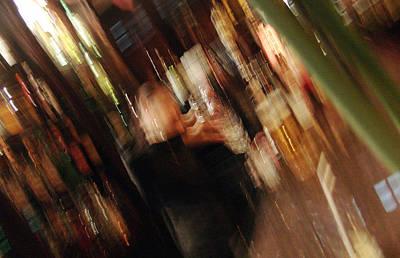 bar with Lucy Print by Mieczyslaw Rudek Mietko