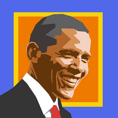 Barack Digital Art - Barack by Douglas Simonson