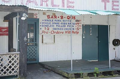 Que Photograph - Barb B Que Stand by Bradford Martin