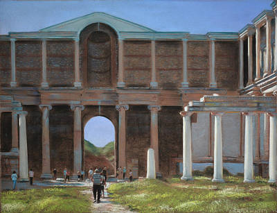 Iconic Painting - Barbarians At The Gate by Christopher Reid