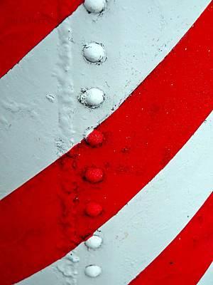 Urban Art Photograph - Barber Pole by Chris Berry