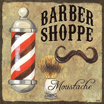 Painting - Barber Shoppe 1 by Debbie DeWitt