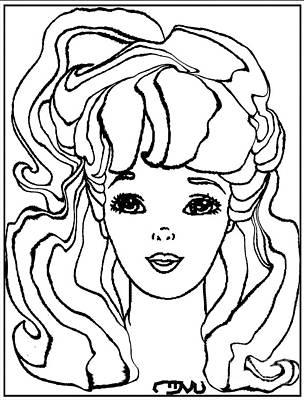 Barbie Doll Bd0000000001 Print by Pemaro