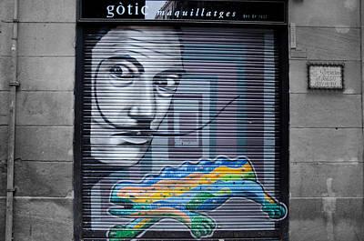 Barcelona - Urban Scene Print by Andrea Mazzocchetti