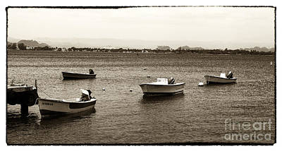 Barcos Print by John Rizzuto