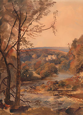 Barden Tower Yorkshire Print by Mountain Dreams