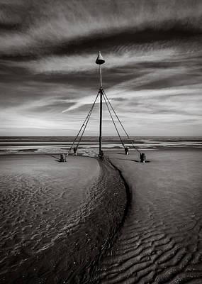 Cloud Formations. Cloud Photograph - Barkby Beach 2 by Dave Bowman