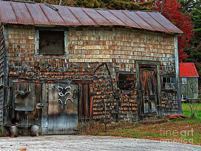 Barn Art Print by Marcia L Jones