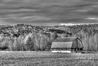 Barn At Sleeping Bear Dunes Print by Twenty Two North Photography