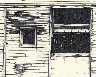 Barn Door #1 Print by Cliff Higdon