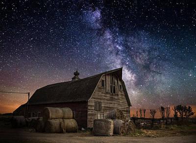Galactic Photograph - Barn Iv by Aaron J Groen