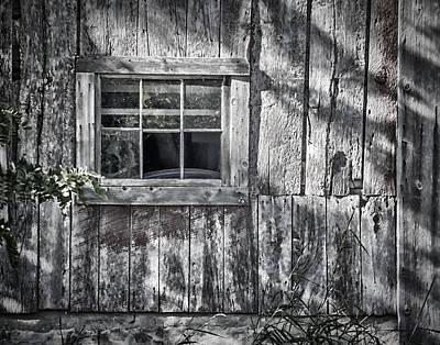 Barn Window Print by Joan Carroll
