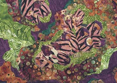 Tapestries Textiles Tapestry - Textile - Barnacles by Lynda K Boardman