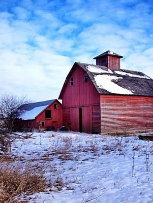 Illinois Barns Photograph - Barnstorm by Tom Druin