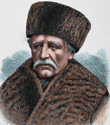 Baron Adolf Erik Nordenskjold Print by Prisma Archivo