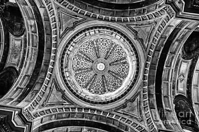 Towers Photograph - Baroque Church Cupola Dome by Jose Elias - Sofia Pereira