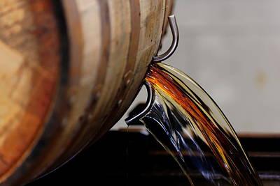Kentucky Photograph - Barrel Pour by Lone  Dakota Photography