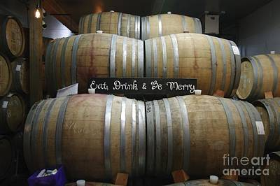 Barrels Await  Original by Mark Treick