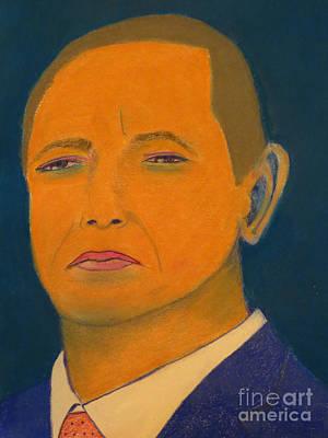 President Obama Print by Manuel Matas