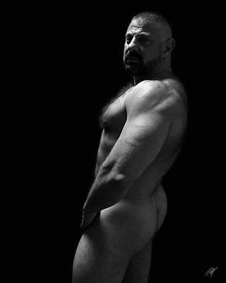 Nude Men Photograph - Bart by Chris  Lopez