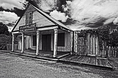 Andy Crawford Photograph - Barthel General Merchandise Store by Andy Crawford