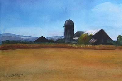 Barton Painting - Barton Farm by Donna Walsh