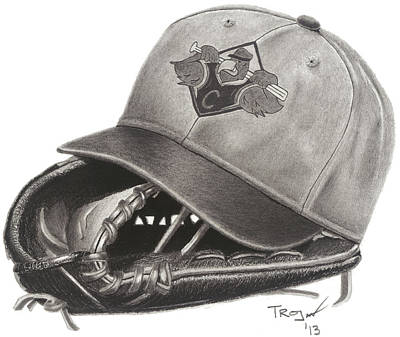 Baseball Championship Season Original by Tim Trojan