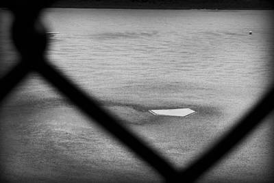 Baseball Field Photograph - Baseball Diamonds by Kelly Hazel