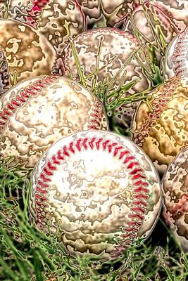 Baseball - Field Of Dreams Print by David Patterson