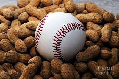 Baseball Season Photograph - Baseball Season Edgy by Andee Design