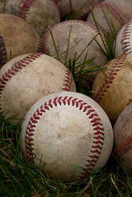 Baseballs Print by David Patterson
