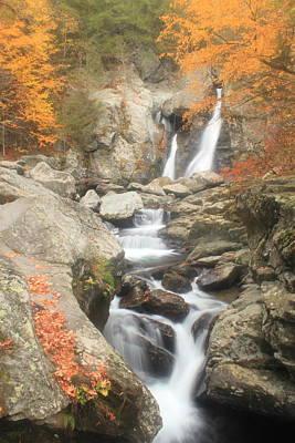 Bash Bish Falls Photograph - Bash Bish Falls And Stream by John Burk