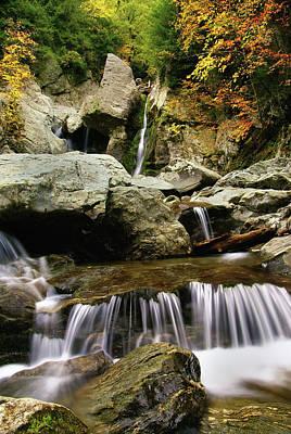Bash Bish Falls Photograph - Bash Bish Falls-the Berkshires by Thomas Schoeller