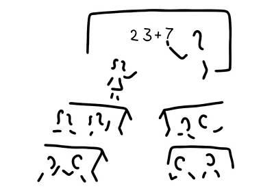 Basic Schoolteacher Teacher Trains Print by Lineamentum