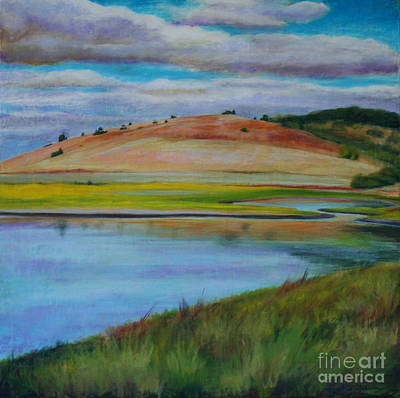Jana Painting - Basket Slough by Jana R  Johnson