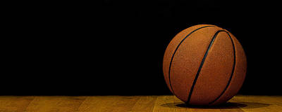 Athletic Sport Photograph - Basketball Panorama by Andrew Soundarajan