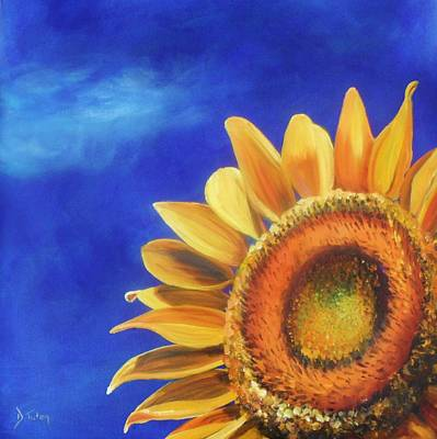 Life In Italy Painting - Basking In The Sun by Donna Tuten
