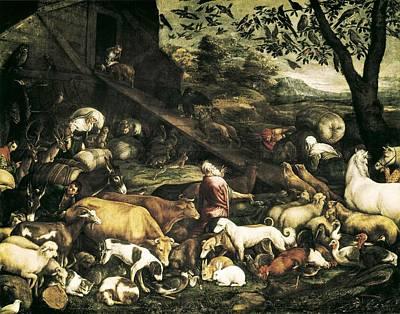 Bassano, Jacopo. Animals Entering Print by Everett
