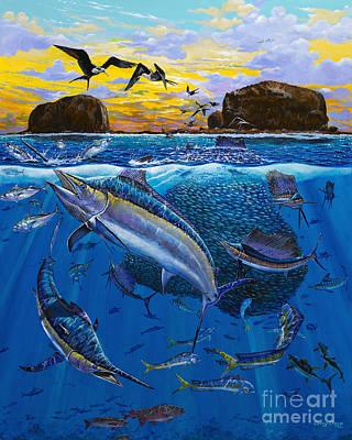 Bat Island Off00139 Print by Carey Chen