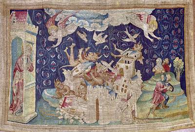 Tapestries Textiles Photograph - Bataille, Nicolas 14th C.. The Fall by Everett