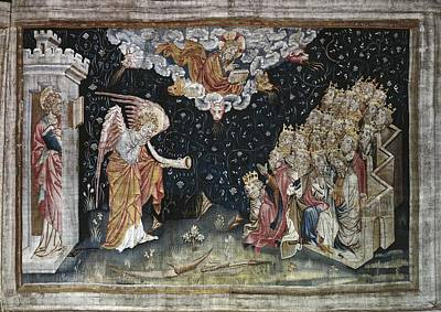 Tapestries Textiles Photograph - Bataille, Nicolas 14th C.. The Seventh by Everett
