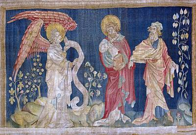 Tapestries Textiles Photograph - Bataille, Nicolas 14th C.. The Tears by Everett
