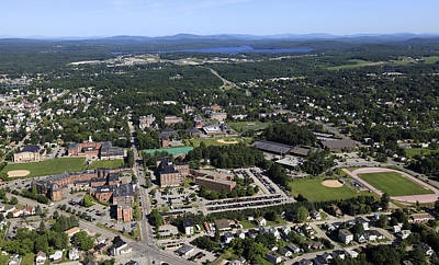Bates College, Lewiston Print by Dave Cleaveland
