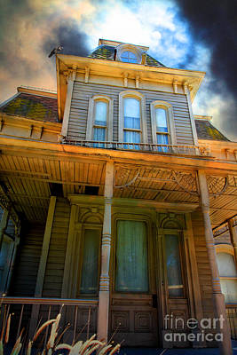 Bates Motel 5d28867 Print by Wingsdomain Art and Photography