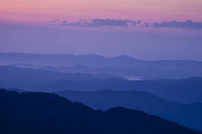 Twilight Views Photograph - Bathed In Blue by Andrew Soundarajan