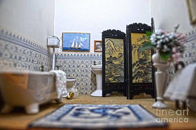 Sailboat Photograph - Bathroom For Royal Dolls by RicardMN Photography